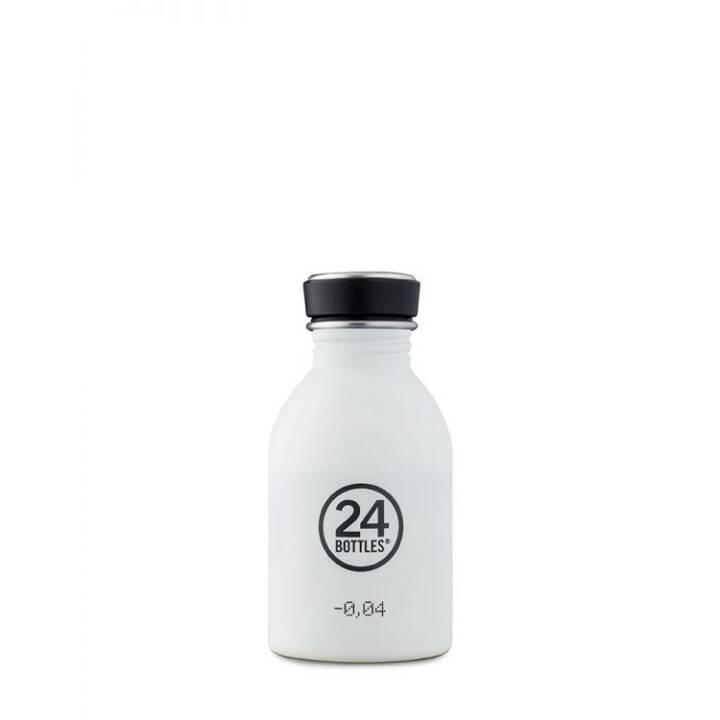 24BOTTLES Borraccia Urban Ice White (Bianco, 0.25 l)