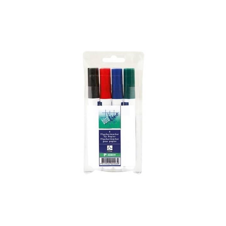 BÜROLINE Flipchart Marker grün