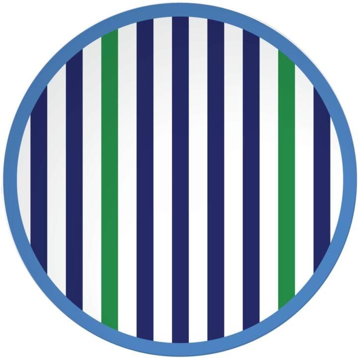 ZAK DESIGNS Speiseteller Riviera Bright (20.5 cm)