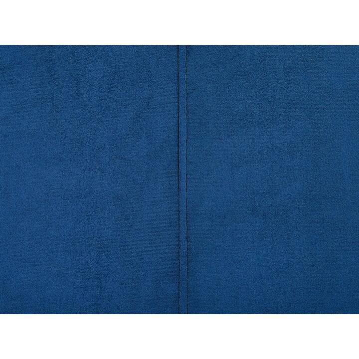 BELIANI Oslo Divano ad angolo (Poliestere, Marrone, 270 cm x 64 cm)