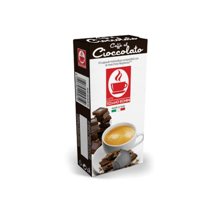 TIZIANO BONINI Capsule di caffè Espresso Cioccolato (10 pezzo)
