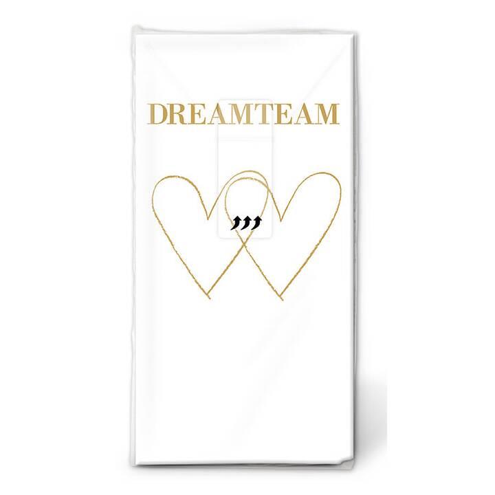 PAPER + DESIGN Mouchoir Dreamteam (10 pièce)