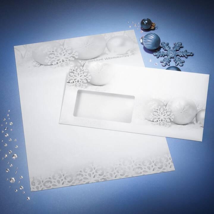SIGEL Winter Sparkle 11 x 22 cm Fenster links - 50