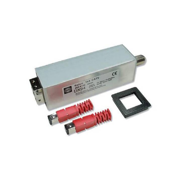 BKS KABEL-SERVICE Adapter (Rot, Silber)