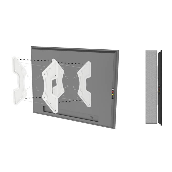 PUREMOUNTS Flachbildschirmzubehör VESA Adapter Universal Weiss