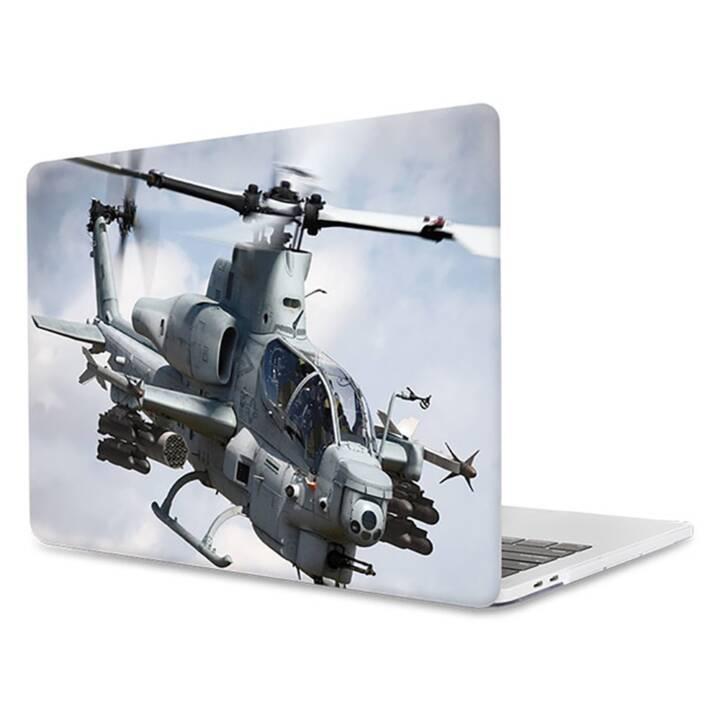 """EG MTT Laptop Cover für Macbook Pro 13"""" CD ROM - Hubschrauber"""