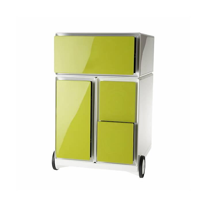 PAPERFLOW easyBox Schubladencontainer (Grün, Weiss)