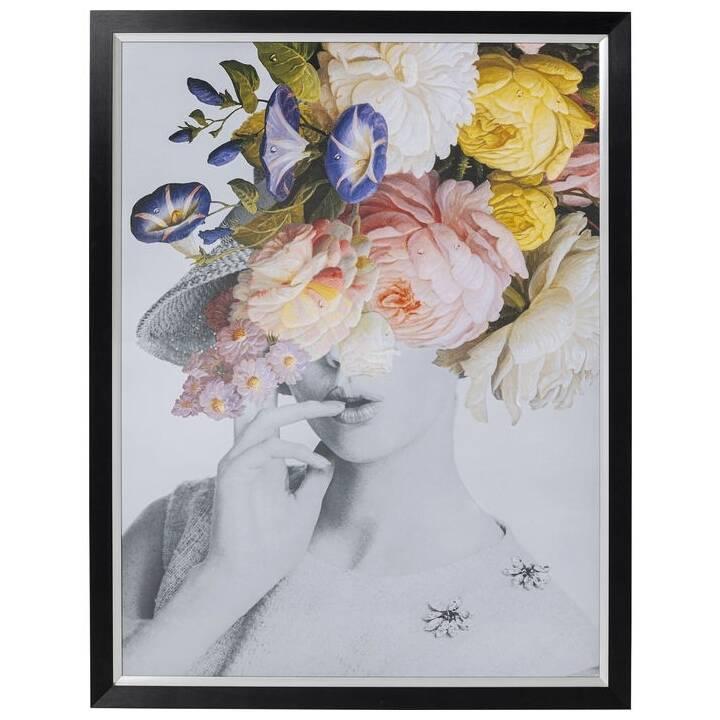KARE Frame Flower Lady Pastel (117 cm x 154 cm)