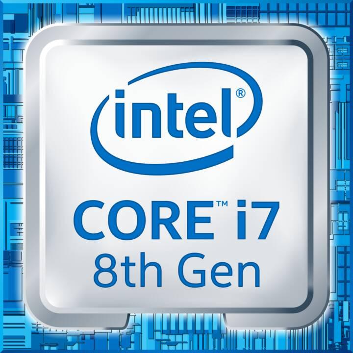 HP EliteDesk 800 G4, Core i7 8700K, 16 Go de RAM, 512 Go SSD