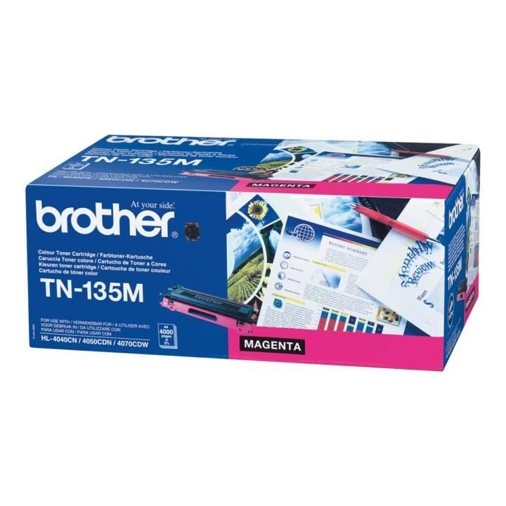 BROTHER TN135M (Toner seperato, Magenta)