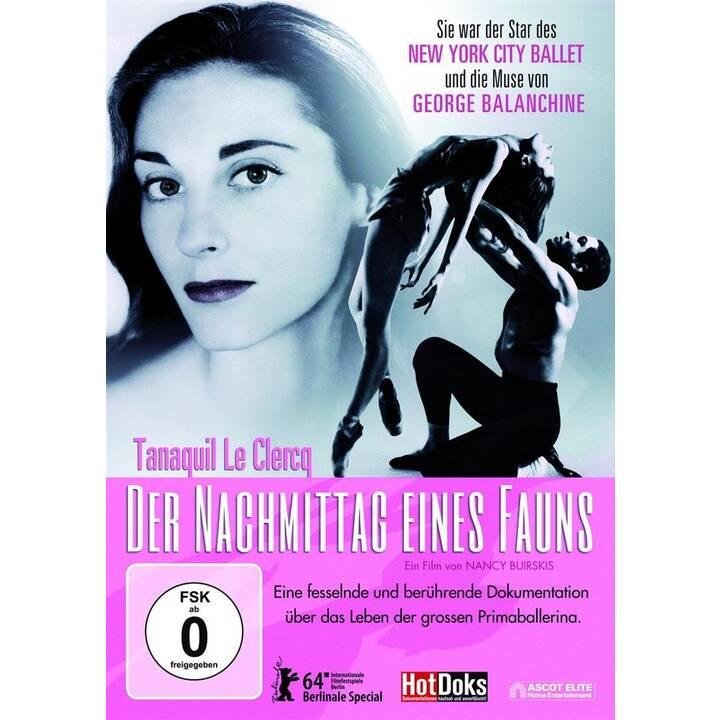 Tanaquil Le Clercq - Der Nachmittag eines Fauns (DE, EN)