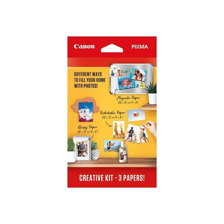 CANON CreativeKit Fotopapier (60 Blatt, 100 x 150 mm)