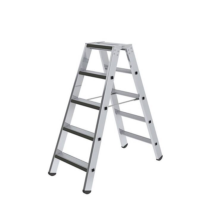 Stufen-Stehleiter, beidseitig,