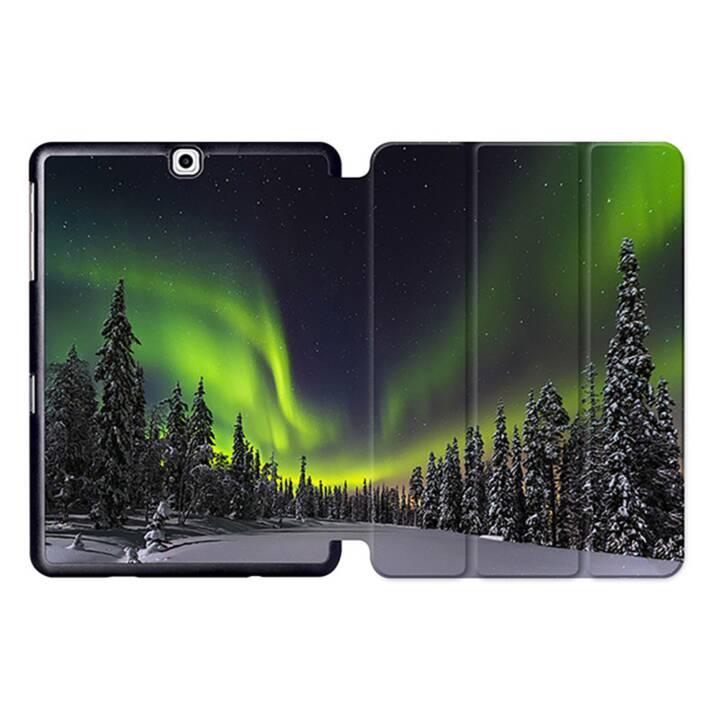 """EG MTT Tablet Tasche mit Smart faltbare Abdeckung für Samsung Galaxy Tab S2 9.7 """"- Aurora"""