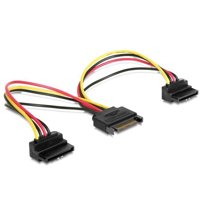 DELOCK 60128 Stromanschlusskabel (SATA, 15 cm)