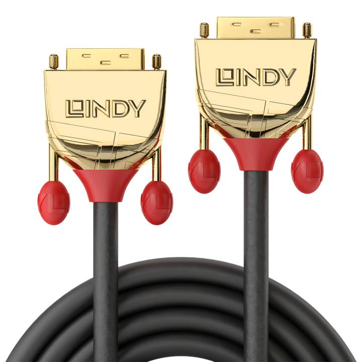 LINDY Oro cavo DVI, 15m