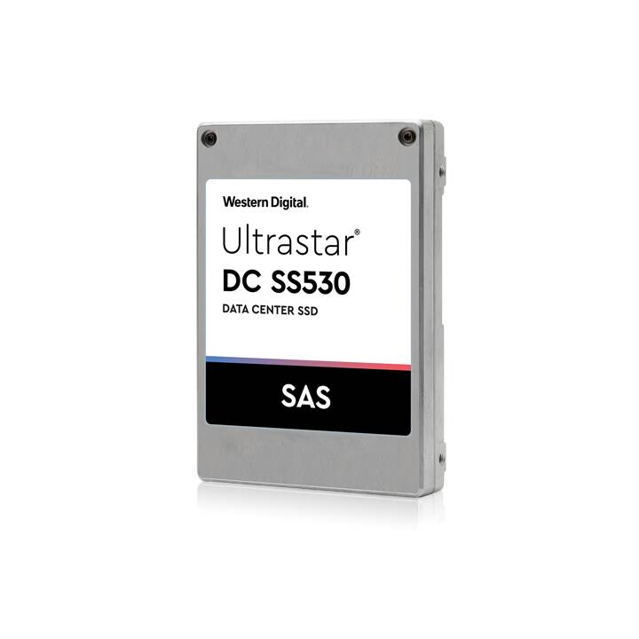 WD Ultrastar DC SS530 WUSTR1538ASS200 - Disque SSD - 3.84 To - SAS 12Gb/s