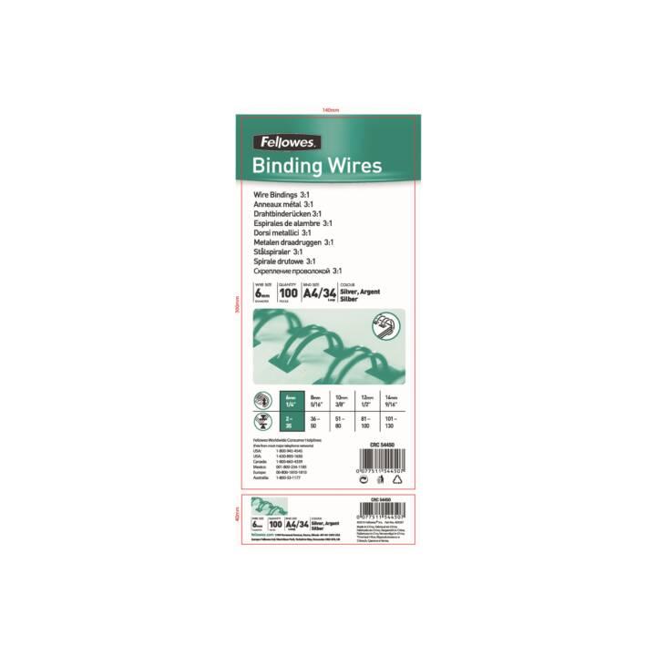 FELLOWES Binderücken 6 mm