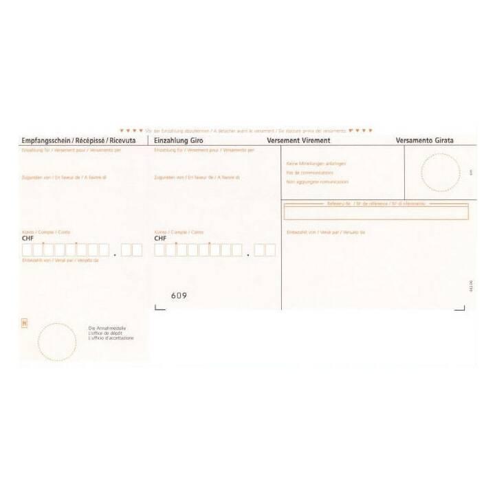 SIMPLEX Rechnungsformular mit ESR