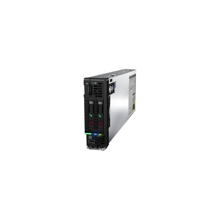 HPE ProLiant BL460c Gen10 - Lama - Xeon Gold 6140 2,3 GHz - 128 GB - 0 GB