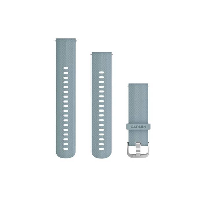 GARMIN Bracciale a sgancio rapido (20 mm) Ciano argento