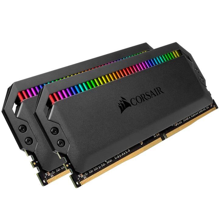 CORSAIR Dominator (2 x 16 Go, DDR4-SDRAM, DIMM 288-Pin)