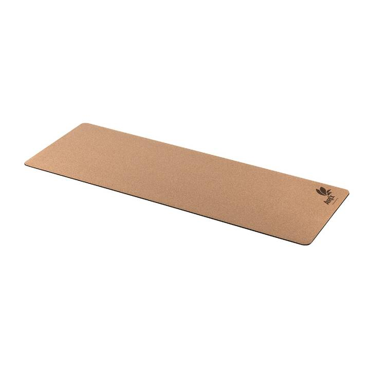 AIREX Yoga Eco Cork mat Tappetiono di yoga (610 mm x 1830 mm x 4 mm)