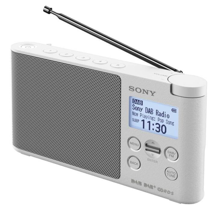 SONY XDR-S41D Digitalradio (Weiss)