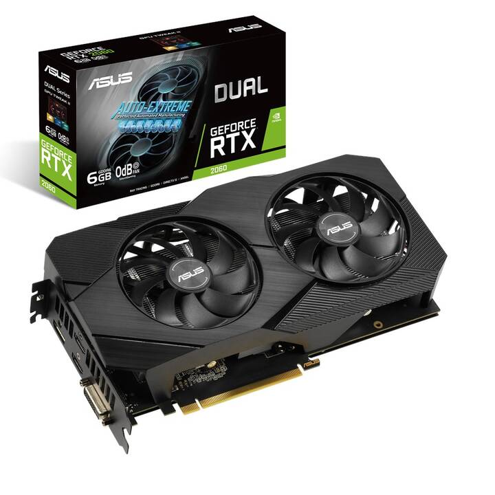 ASUS 90YV0CH4-M0NA00 Nvidia GeForce RTX 2060 (6 GB, Gaming)