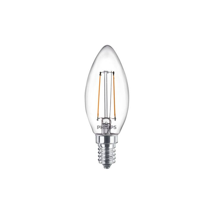 PHILIPS LED Birne (E14, 2 W)