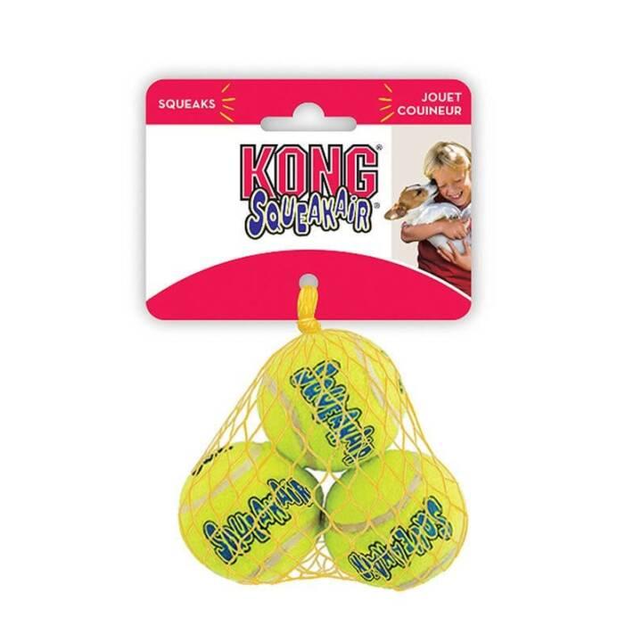 KONG Hunde-Spielzeug Air Squeaker Tennis Ball