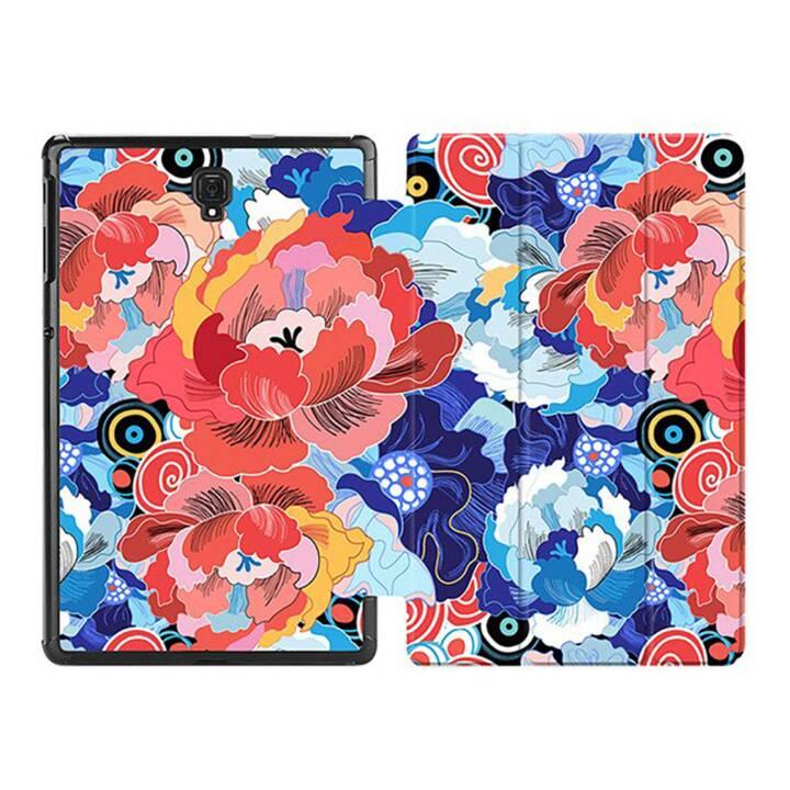 "EG MTT Custodia tablet per Samsung Galaxy Tab S4 10.5"" - Fiore rosso"