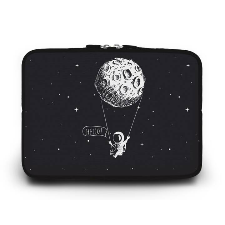 """EG HUADO Housse d'ordinateur portable pour 12"""" - Astronaute"""