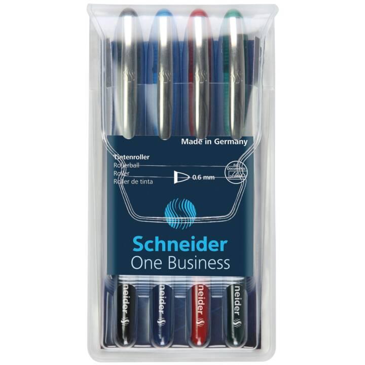 SCHNEIDER Tintenroller 1 Business 4er Set