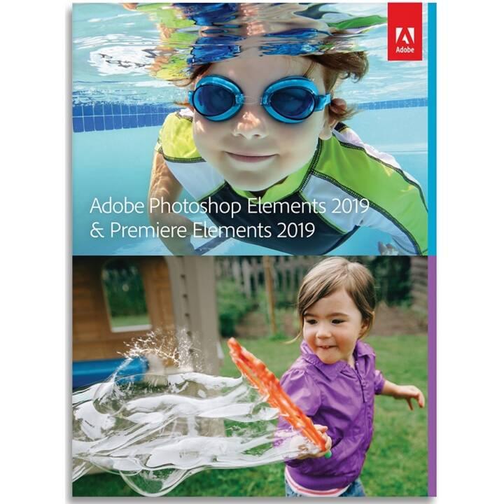 ADOBE Photoshop Elements & Premiere Elements Mise à jour 2019 (D)