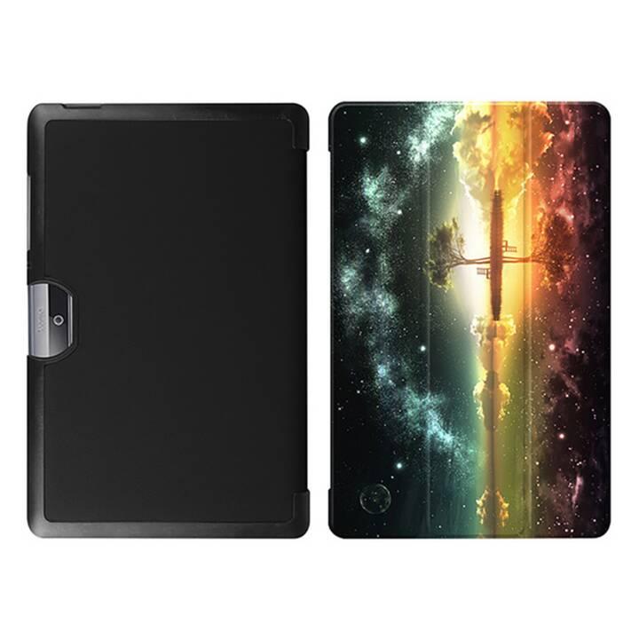 """EG MTT Tablet Tasche mit faltbarer Abdeckung für Acer Iconia Tab 10 10.1 """"- Sky"""