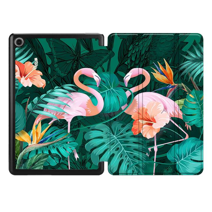"EG MTT Coque pour HUAWEI MediaPad T5 10.1"" 2018 - flamingo"