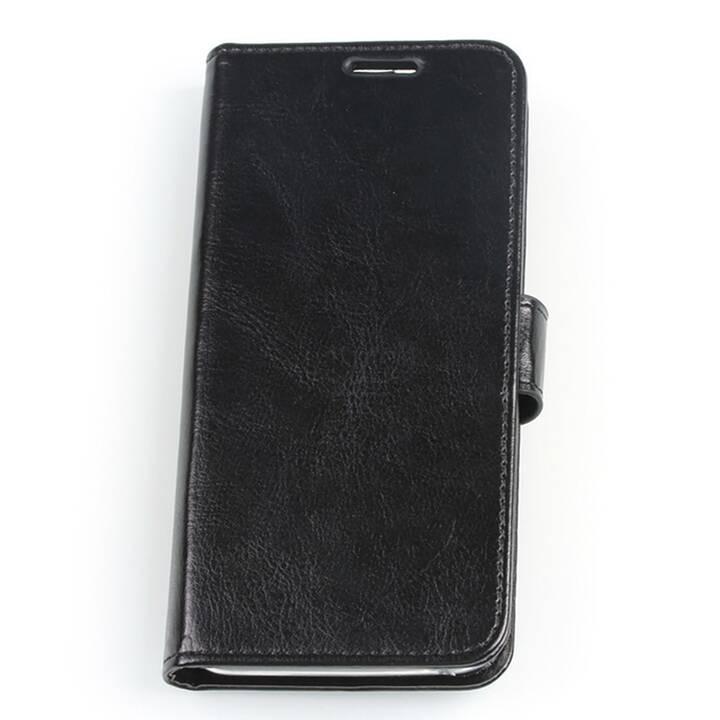 EG Mornrise Wallet Case fuer Samsung Galaxy S10 Plus - Schwarz