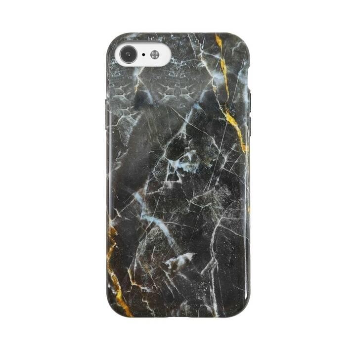 UUNIQUE Backcover Eco Friendly Printed Black Marble (iPhone SE, iPhone 8, iPhone 7, iPhone 6, Multicolore)