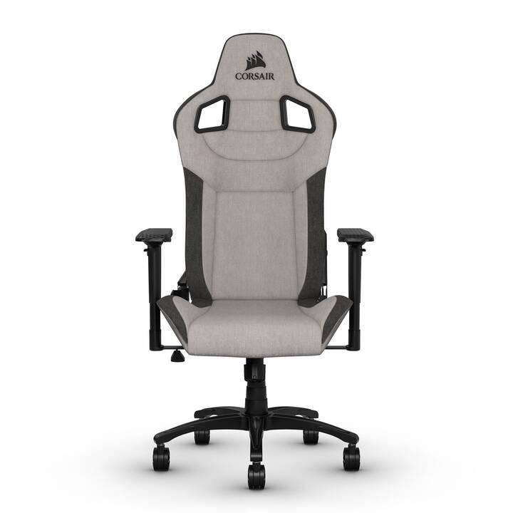 CORSAIR T3 RUSH Gaming Chaise (Noir, Gris)