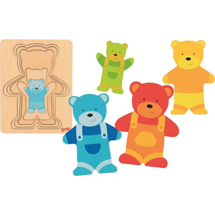 GOKI Bear (1 x 5 Stk, Puzzle 2D)