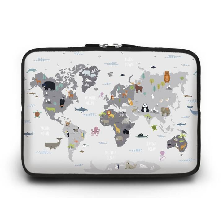 "EG HUADO Custodia per Laptop per 14"" - Map"