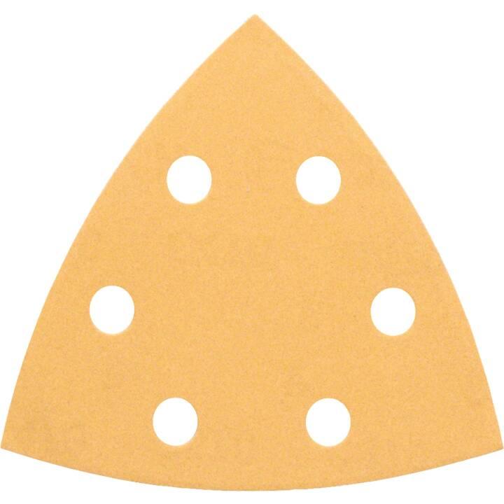 BOSCH Carte abrasive al corindone (80, 5 pezzo)