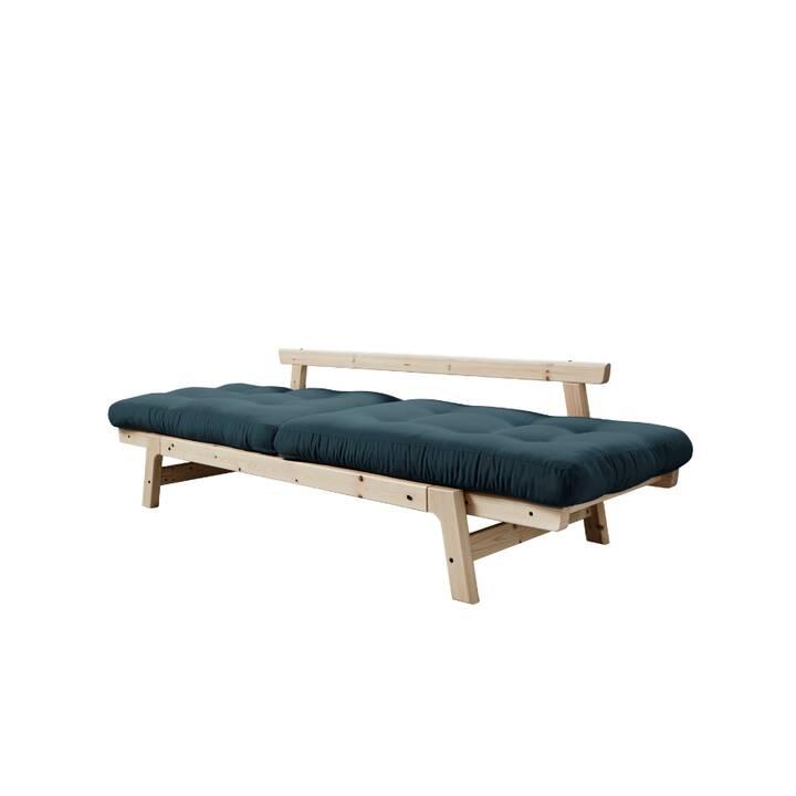 KARUP DESIGN Step Divano letto (Cotone, Poliestere, Beige, Petrol, 158 cm x 74 cm)