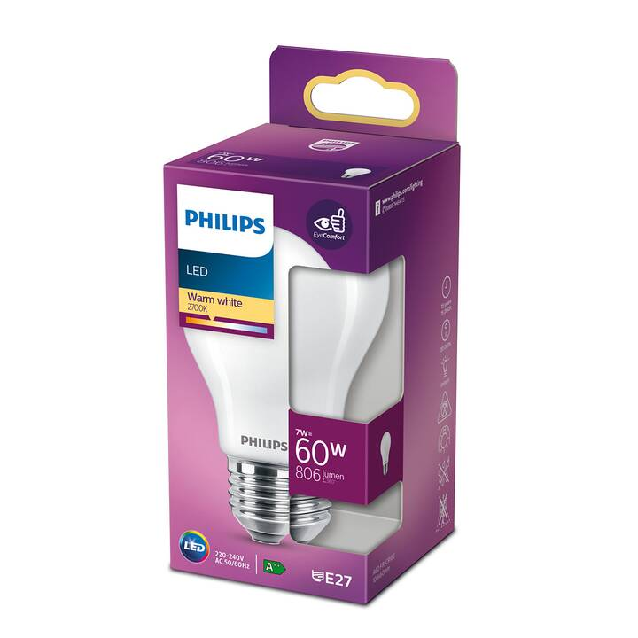 PHILIPS LED Birne Classics (E27, 7 W)