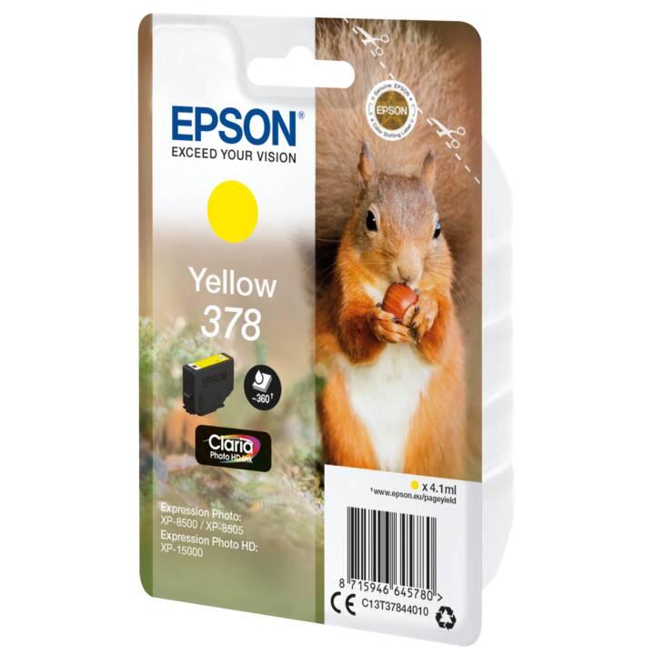 EPSON cartouche simple 378 Jaune