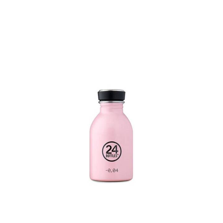 24BOTTLES Bouteille Urban Candy Pink (Pink, 0.25 l)