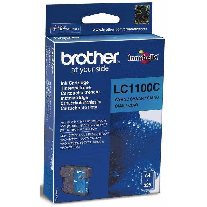 BROTHER LC-1100C (Cyan, 1 Pièce)