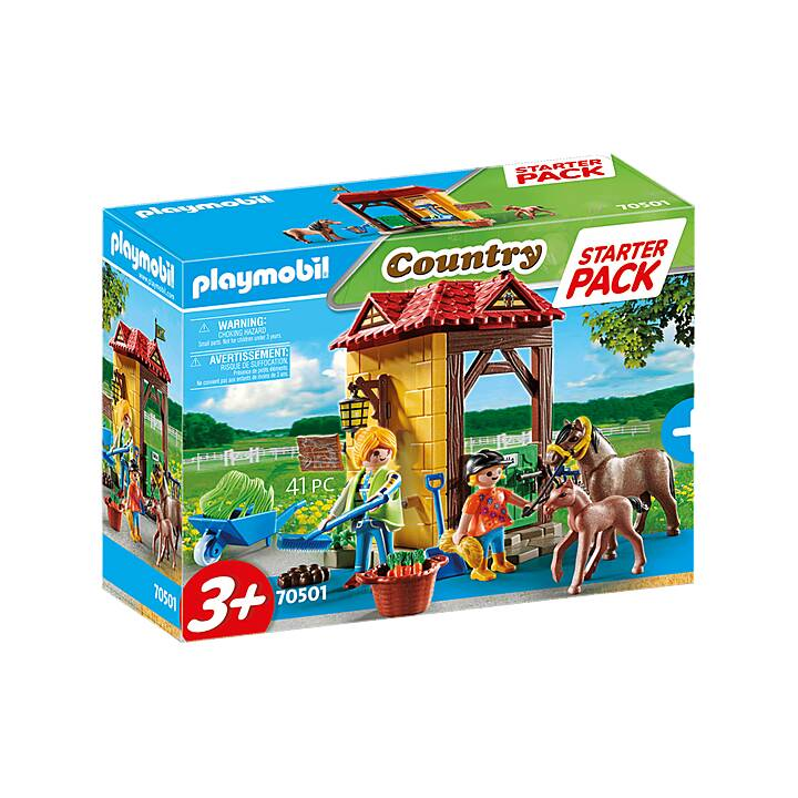 PLAYMOBIL Country Starter Pack Maneggio (70501)
