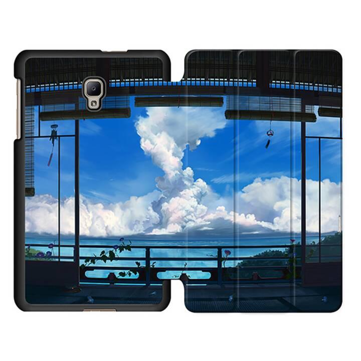 """EG MTT Sacoche à comprimés avec étui Smart pliable pour Samsung Galaxy Tab A 8"""" (2017) Tablet - Sky"""